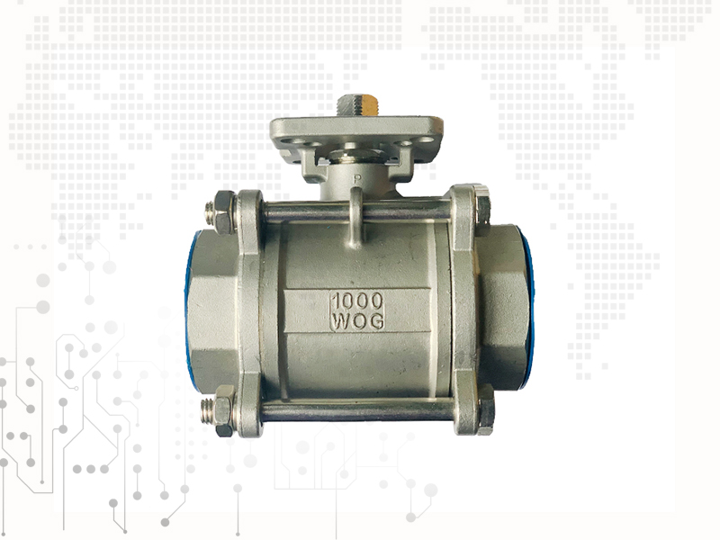 3PC Type Ball Valve With Internal Thread Q11F/H-1000WOG