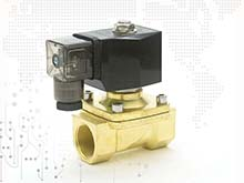 copper electric solenoid valve