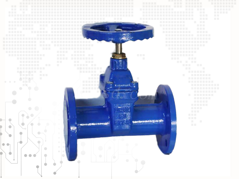 F5 resilient seated flanged gate valves