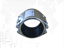 Double-Section Pipe Repair Coupling