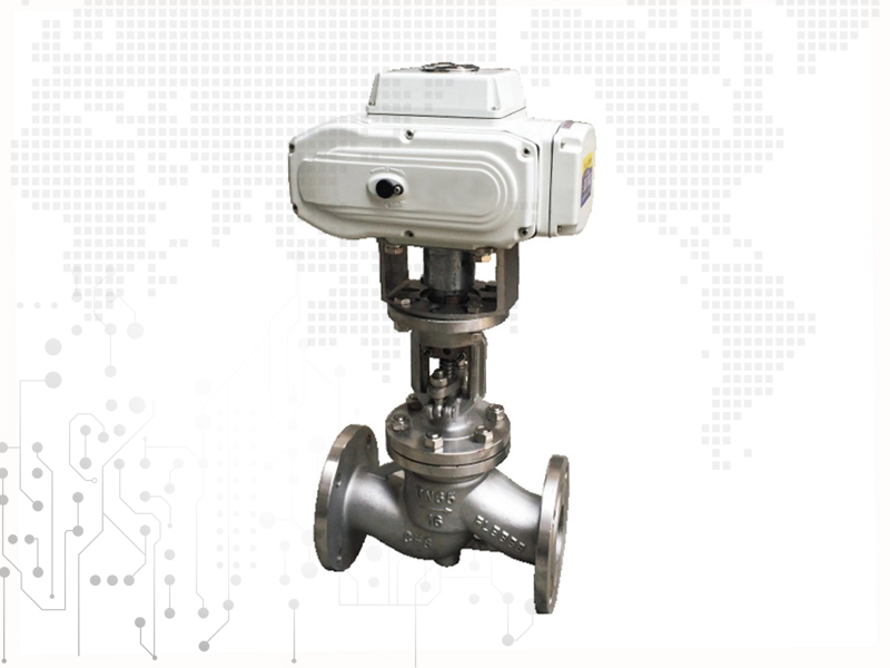 electric motorized control stainless steel SS316 globe valve