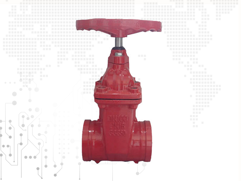 Groove Soft Sealing Gate Valve