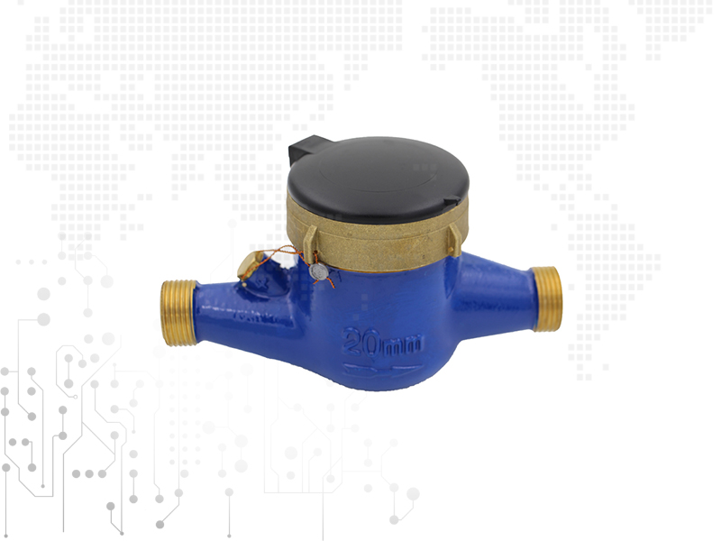 More flow rotor dry water meter